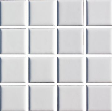 Waxman CM-140 Matt White - Ceramic Pool Tiles - 10 Sheet Pack